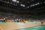 General View,<br /> SEPTEMBER 16, 2016 - Goalball : <br /> Men's Final match between Lithuania 14-8 USA<br /> at Future Arena<br /> during the Rio 2016 Paralympic Games in Rio de Janeiro, Brazil.<br /> (Photo by Shingo Ito/AFLO)