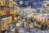 Interlitho, CHRISTMAS SANTA, SNOWMAN, WEIHNACHTSMÄNNER, SCHNEEMÄNNER, PAPÁ NOEL, MUÑECOS DE NIEVE, paintings+++++,market place,KL6087,#X# ,Marcello