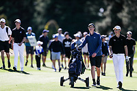 Tom Parker during the New Zealand Amateur Golf Championship final against Daniel Hillier at Russley Golf Course, Christchurch, New Zealand. Sunday 5 November 2017. Photo: Simon Watts/www.bwmedia.co.nz