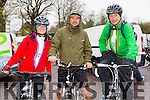 At The Kerry Crusader cycle club in association with Orbis scenic challenge on Sunday Starting at the Listowel community centre were Geraldine Olan, Ansis Dimiters and Michael Holland