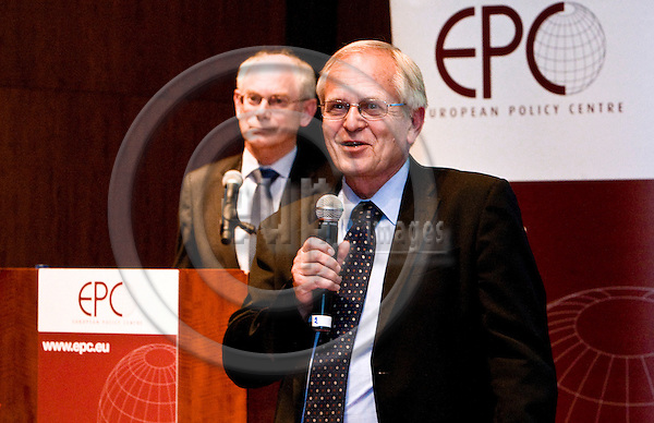 BRUSSELS  -  BELGIUM  - 16 JUNE 2011 -- European Policy Centre (EPC) Annual Conference. -- Keynote speaker of the event Herman Van ROMPUY, President of the European Council with Hans MARTENS, Chief Executive of EPC.  -- PHOTO: Juha ROININEN /  EUP-IMAGES