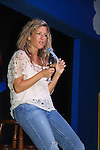 """General Hospital Laura Wright """"Carly"""" at a Wine Tasting for Standing Sun Wines on August 11, 2012 at MaGooby's Joke House in Timonium, Maryland. The fans got a chance to takes all the various wines, a Q&A, photos, autographs. L(Photo by Sue Coflin/Max Photos)"""