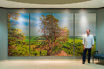Five photographs by Michael Knapstein were selected to decorate the main lobby of the University of Wisconsin Hospital in Madison, Wisconsin. Several images were 10 feet high and 16 feet wide.