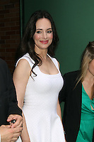 May 15, 2012 Madeleine Stowe at Good Morning America  to talk about ABC TV series Revenge in New York City. Credit: RW/MediaPunch Inc.