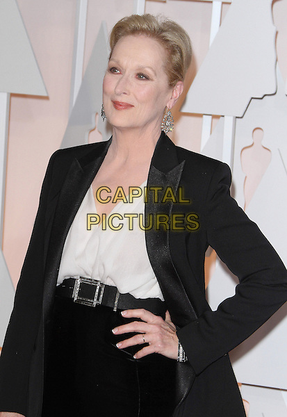 22 February 2015 - Hollywood, California - Meryl Streep. 87th Annual Academy Awards presented by the Academy of Motion Picture Arts and Sciences held at the Dolby Theatre. <br /> CAP/ADM<br /> &copy;AdMedia/Capital Pictures Oscars