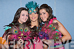 ...GRAS: Laura Moore, Amy Phelan and Orlaith Horan having a great time in the 4th Years Student Mercy Mounthawk School TY Mardi Gras Fashion Show on Wednesday.............   Copyright Kerry's Eye 2008