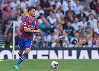 Joel Ward of Crystal Palace in action during the Premier League match between Tottenham Hotspur and Crystal Palace at Wembley Stadium, London, England on 14 September 2019. Photo by Vince  Mignott / PRiME Media Images.
