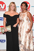 LONDON, UK. September 10, 2018: Jo Jouner &amp; Sunetra Sarker at the TV Choice Awards 2018 at the Dorchester Hotel, London.<br /> Picture: Steve Vas/Featureflash