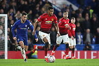 Marcus Rashford of Manchester United in action during Chelsea vs Manchester United, Emirates FA Cup Football at Stamford Bridge on 18th February 2019