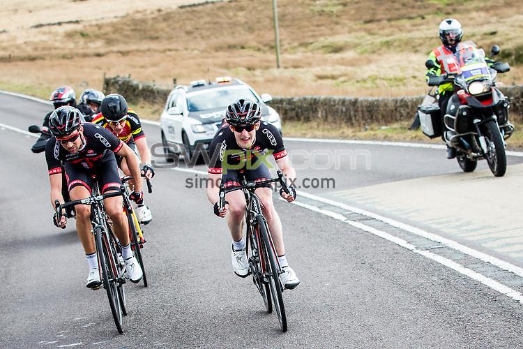 Picture by Alex Whitehead/SWpix.com - 04/04/2015 - British Cycling - Spring Cup Elite Series - Chorley Grand Prix, Chorley, England - NFTO's Eddie Dunbar.