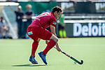 Eindhoven, Netherlands, April 22: During the EHL Final4 Gold Medal match between Waterloo Ducks HC (white) and Rot-Weiss Koeln (red) on April 22, 2019 at HC Oranje-Rood in Eindhoven, Netherlands. Final score 4-0. (Photo by Dirk Markgraf / www.265-images.com) ***
