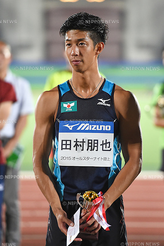 Tomoya Tamura, <br /> JULY 25, 2015 - Athletics : <br /> All Star Night Track &amp; Field <br /> Closing Ceremony <br /> at Shonan BMW Stadium Hiratsuka, Kanagawa, Japan. <br /> (Photo by AFLO SPORT)