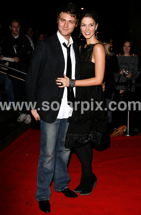 "ALL ROUND PICTURES FROM SOLARPIX.COM.WORLDWIDE SYNDICATION RIGHTS.Brian McFadden and Delta Goodren arrives for the inaugural ""Emeralds and Ivy Ball"" for Cancer Research UK at the Roundhouse, Camden...DATE:01/12/2006-JOB REF:3130-PRS.**MUST CREDIT SOLARPIX.COM OR DOUBLE FEE WILL BE CHARGED**"