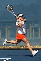 SAN ANTONIO , TX - FEBRUARY 13, 2010: The Abilene Christian University Wildcats vs. The University of Texas At San Antonio Roadrunners Women's Tennis at the UTSA Tennis Center. (Photo by Jeff Huehn)