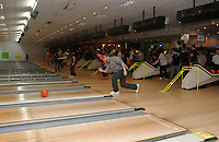 The Swans take part in a bowling event organised by The Supporters trust. 09/11/11<br /> Picture by: Ben Wyeth