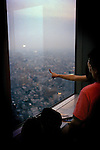 Tokyo, Shinjuku. At the top of the Tokyo metropolitan tower.