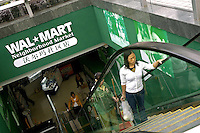 A downtown ' Neighbourhood market' branch of US giant Wal Mart in Shenzhen, China..01 Nov 2004