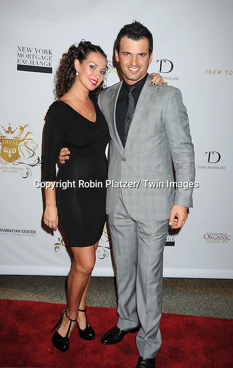 Elena Grinenko and Tony Dovolani attending The Dance With Me Studios Presents All The Right Moves Summer Invitational Competition on June 5, 2011 at Manhattan Center in New York City. ..
