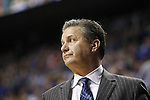 UK Head Coach John Calipari looks out to the court during the UK Men's Basketball vs. Florida Gators game at Rupp Arena. Saturday, February 6, 2016 in Lexington, Ky. UK defeated Florida 80 - 61