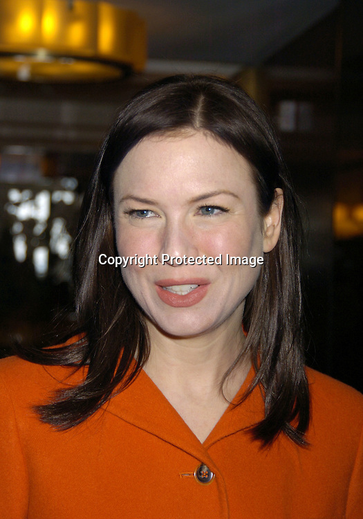 """Renee Zellweger ..at the 18th Annual Citymeals-on-Wheels """"Power Lunch for Women"""" on November 18, 2004 at The Rainbow Room. ..Photo by Robin Platzer, Twin Images.."""