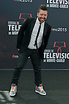 Chris Marques poses at a photocall for the TV series 'Dance with the star' during the 55th Monte Carlo TV Festival on June 13, 2015 in Monte-Carlo, Monaco