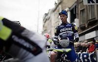 Iljo Keisse (BEL/Etixx-QuickStep) at the start<br /> <br /> 71st Dwars door Vlaanderen (1.HC)