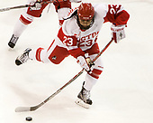 Nina Rodgers (BU - 23) - The Boston College Eagles defeated the Boston University Terriers 3-2 in the first round of the Beanpot on Monday, January 31, 2017, at Matthews Arena in Boston, Massachusetts.