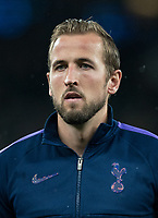 Harry Kane of Spurs before the UEFA Champions League group match between Tottenham Hotspur and Bayern Munich at Wembley Stadium, London, England on 1 October 2019. Photo by Andy Rowland.