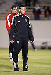 24 March 2004: Ben Olsen shows off his new haircut during pregame warmups. DC United of Major League Soccer defeated the Wilmington Hammerheads of the Pro Select League 1-0 at the Legion Sports Complex in Wilmington, NC in a Carolina Challenge Cup match..