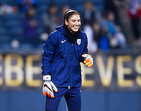 Seattle, WA - October 21, 2015:  The USWNT tied Brazil 1-1 during the USWNT Victory Tour at CenturyLink Field.