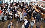 UTRECHT - KNHB Hockeycongres 2016.  Verzamelen voor de opening. Foto Koen Suyk.