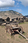 WY: Wyoming, Cody:.At Old Trail Town..Photo #: yellow776..Photo copyright Lee Foster, 510/549-2202, lee@fostertravel.com, www.fostertravel.com..