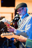 Raymond George performs at the Ponderosa Stomp in New Orleans on October 3, 2015.