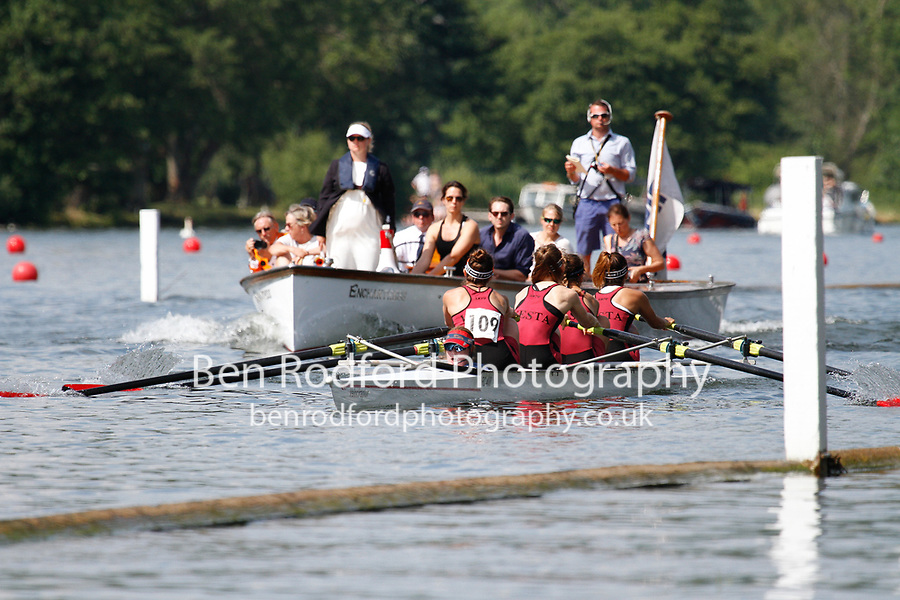 Race: 371 Event: C4+ Final - Vesta RC vs Lea RC <br /> <br /> Henley Women's Regatta 2017<br /> <br /> To purchase this photo, or to see pricing information for Prints and Downloads, click the blue 'Add to Cart' button at the top-right of the page.