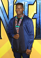 John Boyega at the Black Panther European Premiere at the Eventim Apollo, Hammersmith, London on Thursday 8th February 2018<br /> CAP/ROS<br /> CAP/ROS<br /> &copy;ROS/Capital Pictures