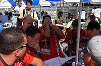 SAO PAULO, SP, 12 FEVEREIRO 2013 - CARNAVAL SP - APURAÇÃO -  Presidentes e diretores da Dragões da Real durante apuração dos votos das escolas de Samba do Grupo Especia no Sambódromo do Anhembi na região norte da capital paulista, nesta terça, 12. FOTO: LEVI BIANCO - BRAZIL PHOTO PRESS