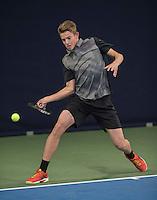 Hilversum, Netherlands, December 4, 2016, Winter Youth Circuit Masters, Niels Visker (NED)<br /> Photo: Tennisimages/Henk Koster