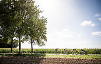 breakaway group <br /> <br /> 60th Grand Prix de Wallonie 2019<br /> 1 day race from Blegny to Citadelle de Namur (BEL / 206km)<br /> <br /> ©kramon