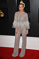 LOS ANGELES, CA - FEBRUARY 10: Ashlee Simpson at the 61st Annual Grammy Awards at the Staples Center in Los Angeles, California on February 10, 2019. <br /> CAP/MPIFS<br /> &copy;MPIFS/Capital Pictures