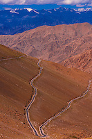 Changla Pass (third highest motorable road in the world), Ladakh, Jammu and Kashmir State, India.