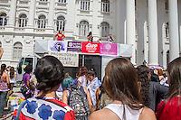 """CURITIBA, PR, 08.03.2014 - 8 DE MARÇO / ATO PELA IGUALDADE  - Na manha deste sábado (08) mulheres realizaram a Marcha pela igualdade de gênero pelo  Dia da Mulher, centro de Curitiba, evento intitulado """"Não é por rosas, é pelo direito das mulheres"""" com , o objetivo lutar pela igualdade de gênero entre homens e mulheres..(Foto: Paulo Lisboa / Brazil Photo Press)"""