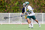 Orange, CA 05/16/15 - Destin Seguin (Concordia #21) in action during the 2015 MCLA Division II Championship game between Dayton and Concordia, at Chapman University in Orange, California.