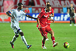 CALI – COLOMBIA _ 30-09-2013 / En juego que cerró la fecha 15 del Torneo de Ascenso Colombiano 2013, América de Cali empató 1-1 con Real Santander en el estadio olímpico Pascual Guerrero.