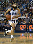 Nevada forward Caleb Martin (10) drives against California Baptist in the second half of an NCAA college basketball game in Reno, Nev., Friday, Nov. 16, 2018. (AP Photo/Tom R. Smedes)