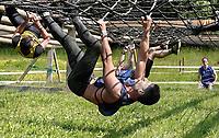 Nederland - Spaarnwoude 2018. De Strong Viking Hills Edition vindt plaats in recreatiegebied Spaarnwoude. Obstacle Run.  Foto mag niet in negatieve / schadelijke context gefotografeerd worden.   Foto Berlinda van Dam / Hollandse Hoogte.
