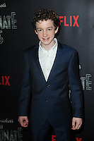 www.acepixs.com<br /> January 11, 2017  New York City<br /> <br /> Louis Hynes attending Netflix&rsquo;s world premiere of Lemony Snicket&rsquo;s 'A Series of Unfortunate Events' at AMC Lincoln Square on January 11, 2017 in New York City.<br /> <br /> <br /> Credit: Kristin Callahan/ACE Pictures<br /> <br /> <br /> Tel: 646 769 0430<br /> Email: info@acepixs.com