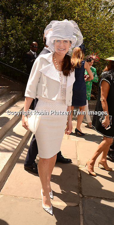 Lois Robbins attends the 32nd Annual Frederick Law Olmsted Awards Hat Luncheon given by The Central Park Conservancy on May 7,2014 in Central Park in New York City, NY USA.