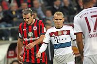 Alex Meier (Eintracht) und Sebastian Rode (Bayern) - Eintracht Frankfurt vs. FC Bayern München, Commerzbank Arena