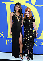 BROOKLYN, NY - JUNE 4: Chanel Iman and Nicole Miller at the 2018 CFDA Fashion Awards at the Brooklyn Museum in New York City on June 4, 2018. <br /> CAP/MPI/JP<br /> &copy;JP/MPI/Capital Pictures