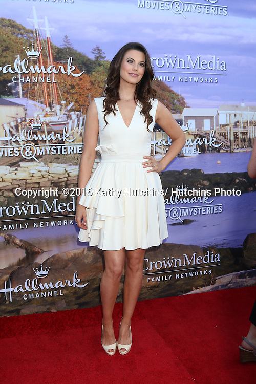 LOS ANGELES - JUL 27:  Meghan Ory at the Hallmark Summer 2016 TCA Press Tour Event at the Private Estate on July 27, 2016 in Beverly Hills, CA